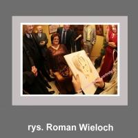 karykaturzysta rysownik karykatury na weselu